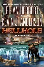 Hellhole 1 Signed (KJA) by Kevin Anderson & Brian Herbert  (2011, Hardcover)