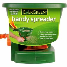 Grass Seed Handy Spreader Fertiliser Feed Hand Arm Support Lawn Garden Plant