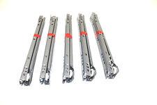5 Paar Teilauszug Teilauszüge Auszüge Schubkastenführung Schubladenauszug 300mm
