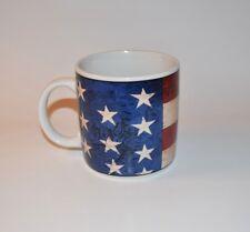 Mug Sakura Warren Kimble 1997 Colonial - American Flag