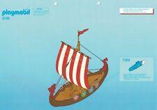 Playmobil Bauanleitung 3150 Wikingerdrachenschiff