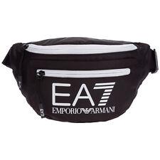 Emporio Armani EA7 bum bag men 275979CC98078820 Black - White small