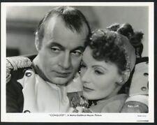 "GRETA GARBO + CHARLES BOYER Original Vintage 1937 MGM Photo ""CONQUEST"""