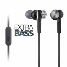 Sony MDR-XB50AP In-Ear Extra Bass Stereo Headphones Black R