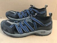 Chaco Outcross Lace Gunmetal Blue Sport Water Shoes Mens Size 11 Vibram Sole