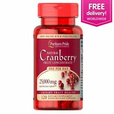 Puritan's Pride One A Day Cranberry 120 Caps Urinary Tract Health FREE SHIPPING