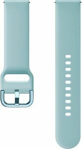 Samsung Silicone Watch Band for Galaxy Watch 42mm, Watch Active/Active 2 - Blue