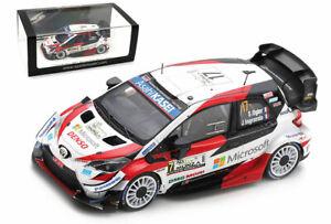 Spark S6572 Toyota Yaris WRC #17 Winner Monza 2020 - Sebastien Ogier 1/43 Scale