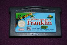 LES GRANDES AVENTURES DE FRANKLIN - Neko/Game Factory - Jeu Plate-Forme GBA FRA