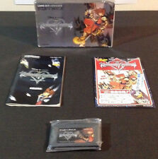 KINGDOM HEARTS CHAIN OF MEMORIES Game Boy GBA SQUARE ENIX Japanese Import BOX