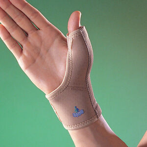 OPPO 1089 Thumb Spica Splint Stabiliser Wrist Support Injury Pain Brace Wrap