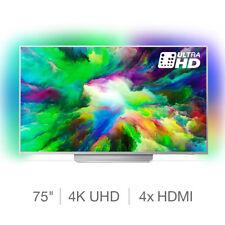 Philips 75PUS7803/12 75 Inch 4K UHD SMART Ambilight TV - Silver