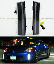 FIT 2006-09 NISSAN 350Z LCI BUMPER REFLECTOR CREE LED BAR DAY TIME RUNNING LIGHT