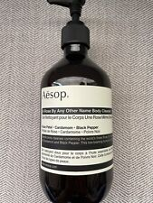 Aesop Bottle, EMPTY, Body Cleanser, A Rose by Any Other Name, 500 mL, 16.9 fl oz