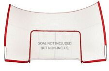Blue Sports Hockey Net Perimeter Backstop Kit 12' x 7' Netting Protective Goal