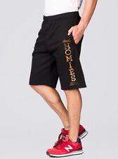 BLTEE Unisex Brian Lichtenberg Black and Gold Homies Cutoff SHORTS Sweatpants XL