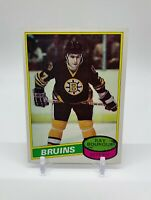 1980-81 Topps Ray Bourque Rookie Card #140