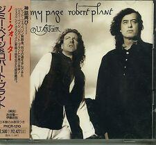 JIMMY PAGE & ROBERT PLANT - NO QUARTER - 1994 JAPAN CD SEALED - Led Zeppelin