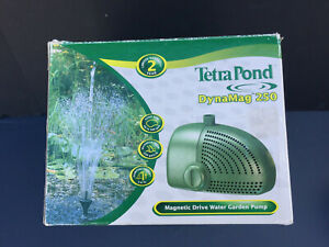 Tetra Pond Fountain Kit 250 gal Pump Waterfall OPEN BOX