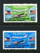 Philippines 1275-1276,MNH.Michel 1146-1147. Pan American World Airways,40th Ann.