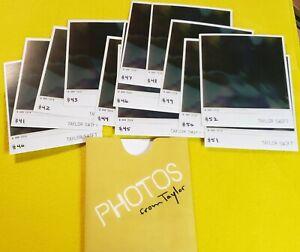 Taylor Swift 1989 album collectible polaroids set photos #40 - #52 NEW
