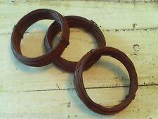 24 Gauge Rusty Wire  3 Rolls = 150 Feet Craft Supplies Primitive Rustic
