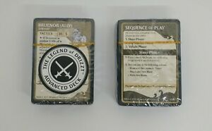 D&D The Legend of Drizzt Board Game 2 Replacement Starting Advanced Decks Sealed