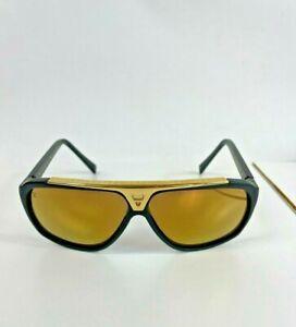 Louis Vuitton Men's Brown Evidence Sunglasses w/ Case Z0842W 93L 64 10 140