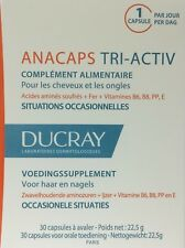 Ducray anacaps tri-Activ food supplement hair and nails 1 month supply 30 caps