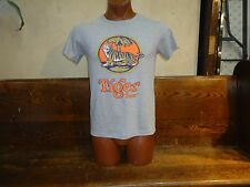 Tiger Beer gray medium t-shirt, Singapore's first locally brewed beer since 1932