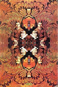 Siblings, Original 1968 Vintage Poster, Peter Max -SIGNED  - RARE