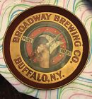 RARE Original Broadway Brewery Beer Tray BUFFALO NY