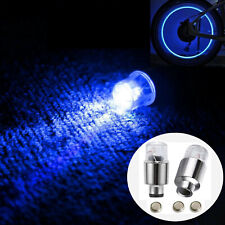 4X LED Lights Tire Wheel Valve Caps Auto Tyre Air Cover Accessories Neon Light
