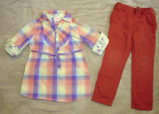 LOT OF 4 PCS MOSSIMO/THE CHILDRENS PLACE GIRLS TOPS/PANTS OUTSIT/SET SIZE 4/4T