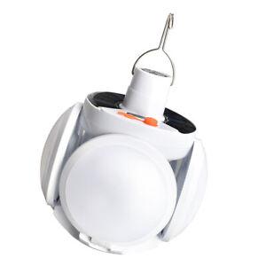 Outdoor Folding Bulb Solar Light Charging  USB Camping Emergency LED Garden Lamp