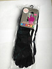 LADIES OPERA LENGTH TEXTING TOUCH SCREEN GLOVES FOR  SMART PHONE, IPAD * BLACK