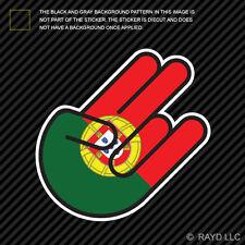 Portuguese Shocker Sticker Die Cut Decal Self Adhesive Vinyl Portugal PRT PT