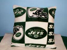 NEW NEW YORK JETS FLEECE PILLOW GREEN WHITE NFL L@@K