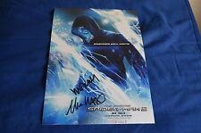 MARC WEBB & MATTHEW TOLMACH signed  Autogramm 20x28 cm In Person SPIDER-MAN 2