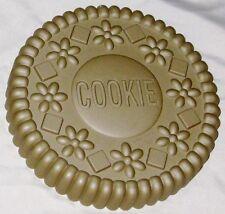 "Chicago Metallic 9"" Round Scalloped Floral Cookie Cake Jello Pan Mold"