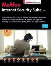 Mcafee internet security suite 2007 - 8 en 1 protection