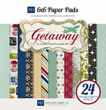 "ECHO PARK ""GETAWAY"" 6X6 PAPER PAD  TRAVEL VACATION SCRAPJACK'S PLACE"