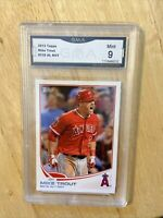 2013 Topps Mike Trout ROY Graded 9 Mint