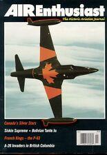 AIR ENTHUSIAST AEQ 72 RCAF CANADAIR CT-133 SILVER STAR / B-26 FIREBOMBERS / P-63