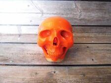 Skull Skeleton Head from Billiard Ball Pool Number 5 Carved Handmade_y712