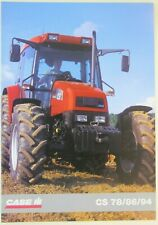 prospectus brochure tracteur CASE IH CS 78/86/94 tractor traktor prospekt