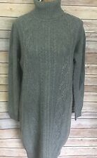 J. Crew Sweater Dress Size S Gray Cable Knit NWT Women's #03