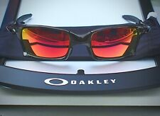 Oakley X-metal X-Squared , polished black with new ruby lenses!