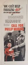 Lot 3 Vintage 1945 Philip Morris Print Ads You Can Help Worth a Pound of Cure