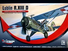 LUBLIN R. XIII D LIAISON PLANE, MIRAGE HOBBY, SCALE 1/48